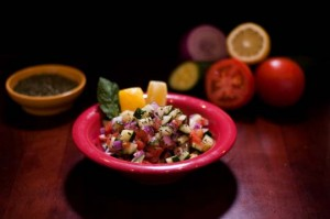 4 Cups Shirazi Salad