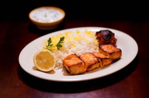 Fish - Norwegian Salmon Kabob