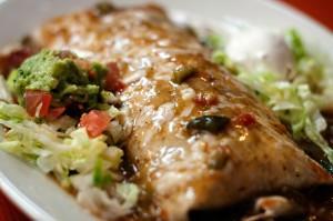 Smothered Sancho Burrito