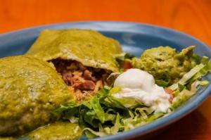 Smothered Aguacado Burrito