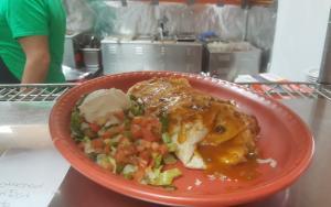 Sanchos Smothered Breakfast Burrito